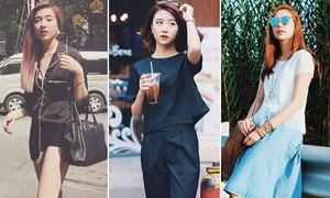 Street style mát mẻ, giải nhiệt ngày hè của xì ta, hot girl Việt