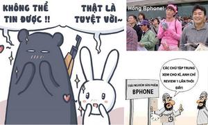 Loạt ảnh chế Bphone và slogan 'Không thể tin nổi' tràn ngập mạng xã hội