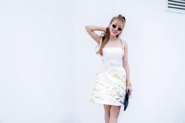 Cô cho biết cô đang kết hợp cùng nhà thiết kế Chung Thanh Phong để thay đổi phong cách cũng như hình ảnh của mình trong tất cả các dự án sắp tới. Và Chung Thanh Phong cũng là nhà thiết kế đã đứng sau những thay đổi về phong cách thời trang của Trang Pháp trong suốt thời gian gần đây.