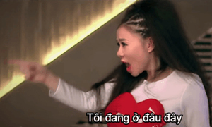 Ảnh động biểu cảm 'Không thể tin nổi' của sao Việt