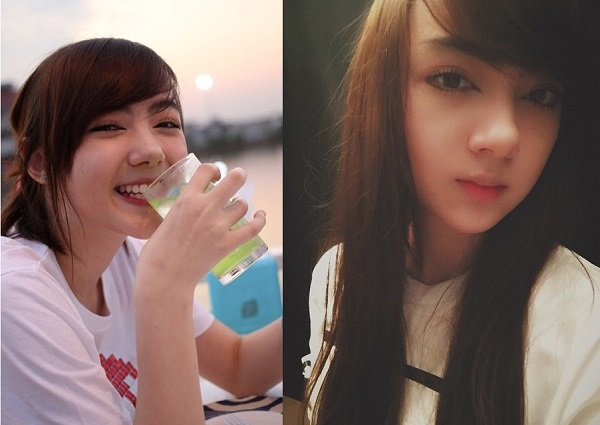 5. Janninaw Xuất thân từ thành viên của một nhóm nhạc sinh viên, Janni bắt đầu gây chú ý nhờ đóng nhiều MV ca nhạc cũng như chụp hình quảng cáo cho các tạp trí teen nổi tiếng. Khi không kẻ vẽ, cô nàng vẫn được đánh giá cao vì sở hữu làn da mịn màng không phải ai cũng có được.