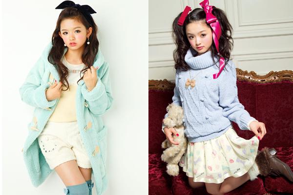 Với phong cách ngọt ngào, dễ thương, Seki Rion trở thành biểu tượng thời trang trẻ cho   không ít nữ sinh Nhật Bản học tập.