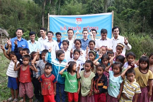 Ngọc Hà vận động xây trường học tại Quảng Bình và đây cũng sẽ khởi đầu cho việc vận đồng xây dựng trường học cho trẻ em vùng xa trong thời gian sắp tới.