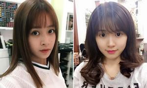 Sao Việt 6/6: Chi Pu cắt tóc không vừa ý, Midu mắt to, đen khác thường