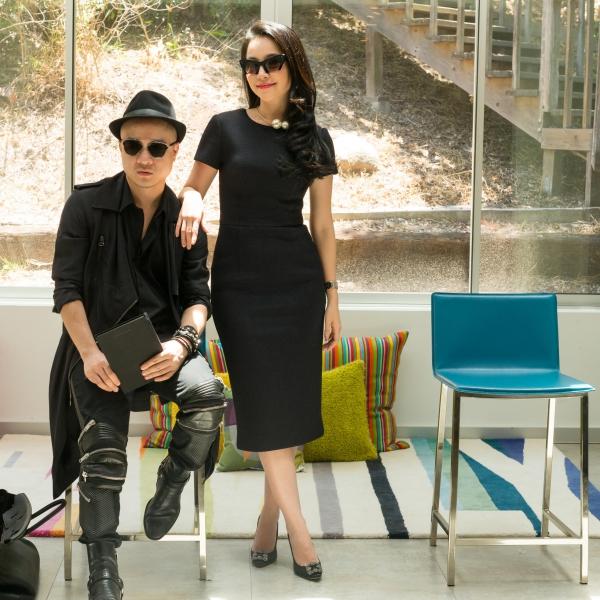Đỗ Mạnh Cường vừa tổ chức buổi casting người mẫu tại Mỹ để chẩun bị cho show diễn xuân hè mang tênLa Vie En Rose. Diễn viên múa Linh Nga cũng đồng hành cùng anh tại buổi tuyển chọn.