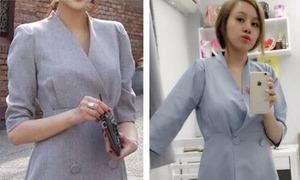 Bà Tưng dính vố siêu hài vì mua váy qua mạng