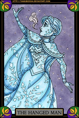frozen-tarot-the-hanged-man-by-nasubionn