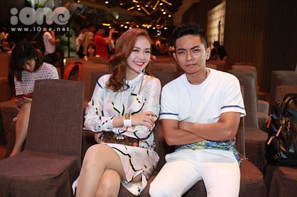 Minh Hằng cho biết cô cảm thấy bản thân mình may mắn khi có sự trợ giúp của Phan Hiển