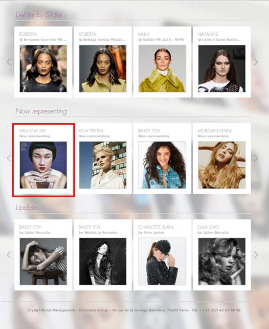 , Á quân Vietnams Next Top Model 2012 Kha Mỹ Vân chính thức sang kinh đô thời trang Paris làm việc từ tháng 06/2015