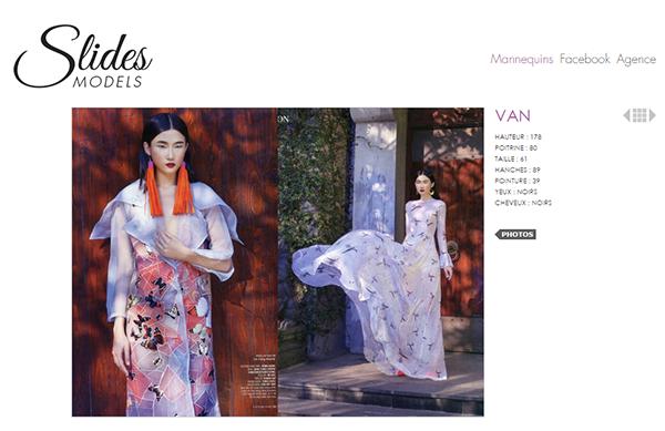 Với khả năng vượt trội và kinh nghiệm làm việc tại Việt Nam và Milan, Kha Mỹ Vân đã được chọn để xuất hiện song song cả hai công ty người mẫu này.