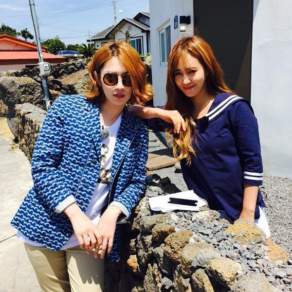 Sao Hàn 24/6: Sunny nối tóc thiếu tự nhiên, SNSD ghi hình Running Man