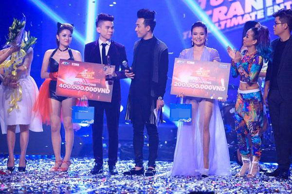 Trước đó, Hoàng Tôn từng đưa ra quyết định bỏ thi The Remix để tập trung cho cuộc thi này. Với ngôi Á quân, Hải Yến được nhận phần thưởng 200 triệu đồng.