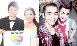 Khoảnh khắc ngọt ngào của 4 cặp đồng tính Việt nổi tiếng