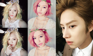 Sao Hàn 2/7: SNSD 'oanh tạc' Instagram, Hee Chul khoe da trắng mịn