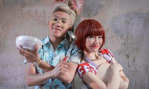 Mr.T mời Hòa Minzy thực hiện MV về món ngon của Hà Nội