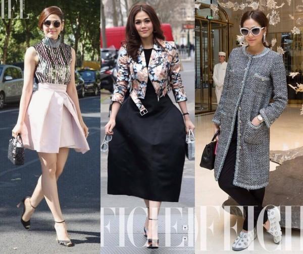 nữ diễn viên Thái Lan này luôn gây ấn tượng mạnh với truyền thông quốc tế nhờ gu thời trang độc đáo và bắt mắt.