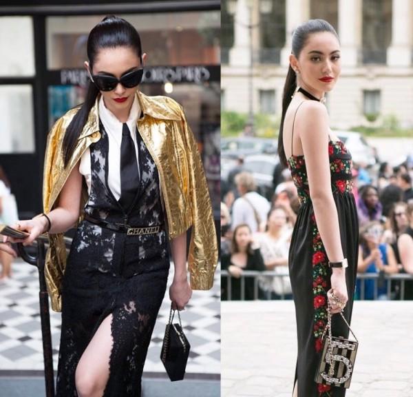 Tại Thái Lan, Mai Davika cũng là một trong số nữ diễn viên sở hữu phong cách thời trang sành điệu. Xuất hiện tại tuần lễ thời trang Paris lần này, cô nàng ma nữ xinh đẹp cũng thường khoác lên mình những bộ cánh độc đáo và đẳng cấp
