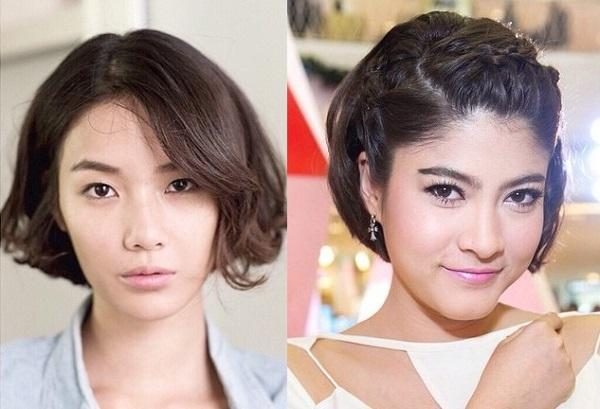 Style này là lựa chọn của nhiều mỹ nhân Thái Lan trong mùa hè năm nay bởi nó giúp làm mới diện mạo hiệu quả, đồng thời đem lại nét đẹp hiện đại, sang trọng.