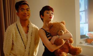 Tóc Tiên vào vai nữ chính trong MV mới của Hoàng Touliver