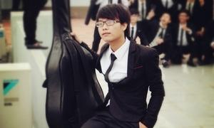 Hùng Vĩnh - chàng Kiến trúc sư tương lai chơi 3 loại nhạc cụ