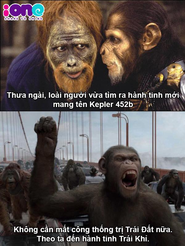 Binh đoàn khỉ có mục tiêu mới nên sẽ không chiếm Trái Đất nữa *thở phào nhẹ nhõm*