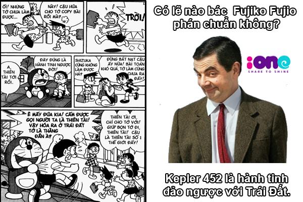Một giả thuyết đặt ra: Liệu Kepler có phải hành tinh song song mà cố họa sĩ Fujio vẽ trong Doraemon