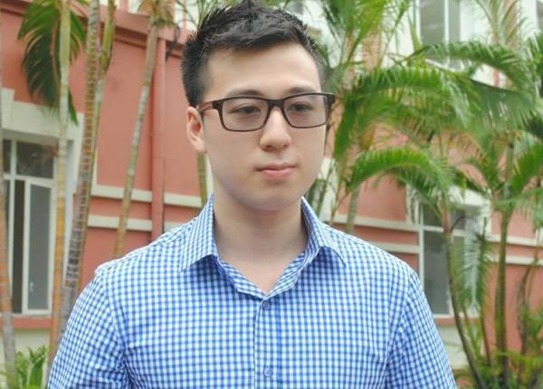 Nam du học sinh điển trai Ngô Di Lân.
