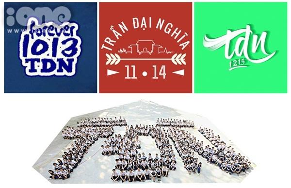Ba thế hệ học sinh chuyên Trần Đại Nghĩa ra trường gần đây nhất: 2010-2013, 2011-2014, 2012-2015