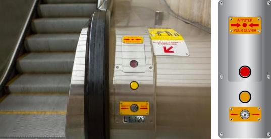 Nút Dừng khẩn cấp có thể cứu tính mạng bạn hoặc người khác trong giây lát.
