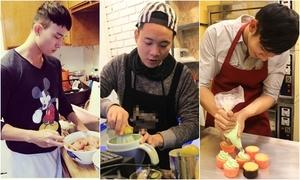 Chấm điểm độ đảm đang của hot boy Việt khi vào bếp