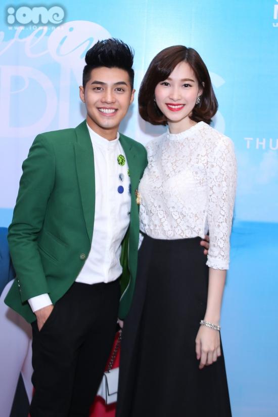 Hoa hậu Đặng Thu Thảo cũng thu xếp thời gian hào hứng chào đón bộ phim ngắn đuầ tay của Noo Phước Thịnh và Thủy Tiên