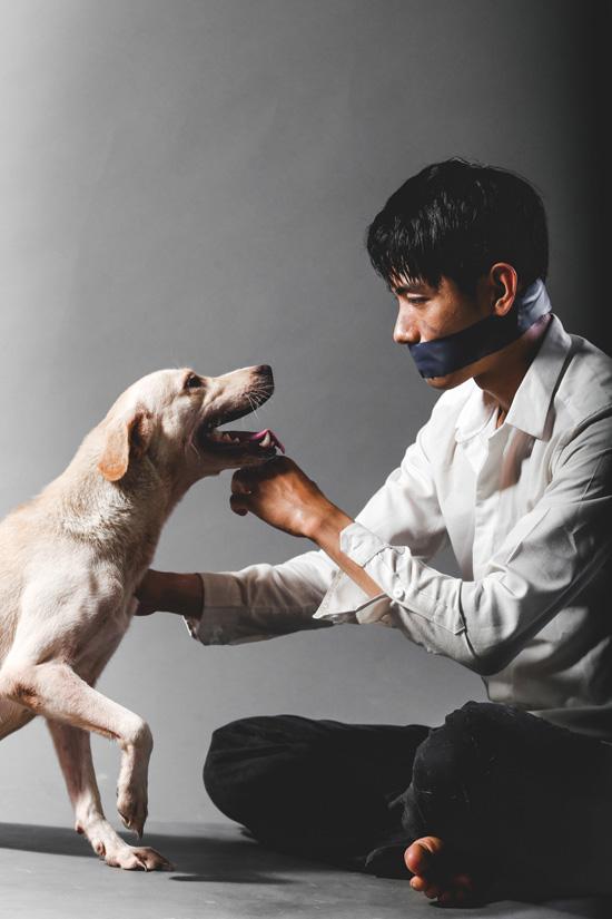 """Bên cạnh công việc chuyên môn nhảy múa và đóng phim, Quang Đăng còn dành nhiều thời gian tham gia các hoạt động cộng đồng, kêu gọi bảo vệ động vật. Mới đây, anh đồng hành cùng nhiều sao Việt trong chiến dịch """"Về đi Vàng ơi"""" với mục đích nâng cao sự đồng cảm đối với loài chó. Anh cũng là nghệ sĩ đầu tiên trong chiến dịch thực hiện bộ ảnh nhằm truyền tải thông điệp thiết thực kêu gọi ngừng những hành động ngược đãi loài chó."""