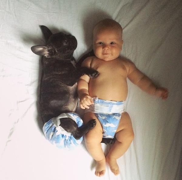 Cả hai đã là người bạn tốt nhất của nhau từ khi mới sinh ra theo đúng nghĩa đen.