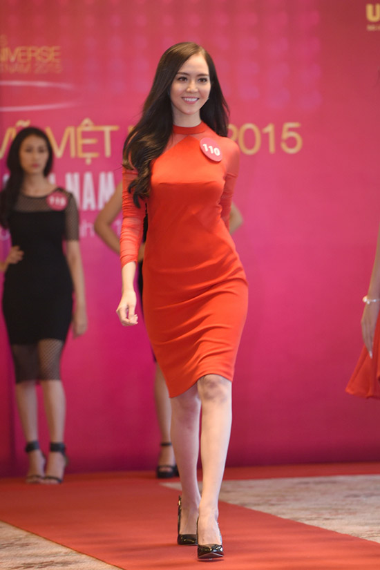 Để chuẩn bị cho cuộc thi Hoa hậu Hoàn vũ Việt Nam lần này, Ngọc Quý kiên trí tập luyện thể hình để sở hữu vóc dáng chuẩn cùng việc trau dồi kỹ năng sống, giao tiếp trước công chúng.