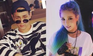 Sao Hàn 16/8: Hyun Ah tóc xanh cực chất, Key kính tròn ngộ nghĩnh