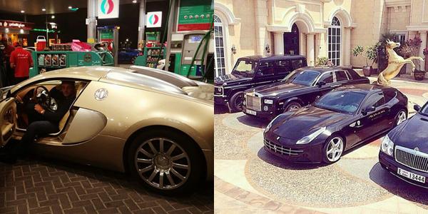 Hội con nhà giàu Dubai thường đăng tải hình ảnh đi xế hộp, xài hàng hiệu, ở biệt thự và tận hưởng những thú vui sang chảnh.