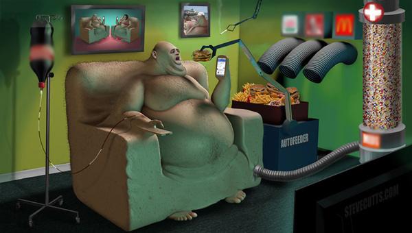 Chúng ta đang sống như một cái máy, bị cho ăn tự động