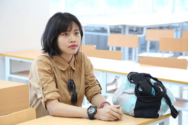 Nguyễn Kiều Linh nickname Boom là gương mặt quen thuộc trong cộng đồng cosplay phía Bắc. Cô gái sinh năm 1991 quê hà Tĩnh, là sinh viên năm cuối ngành thiết kế thời trang, Viện đại học Mở Hà Nội. Ngoài sở thích về thời trang, Kiều Linh còn có niềm đam mê với cosplay.
