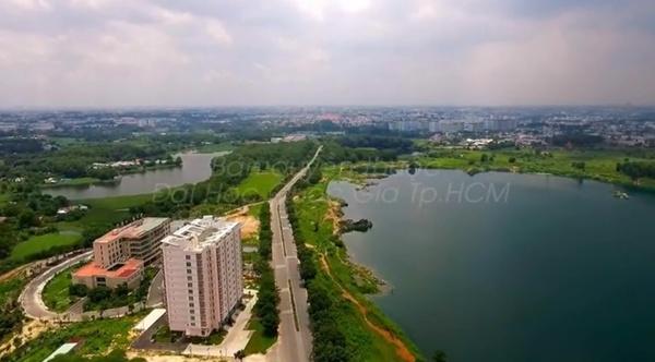 Khu vực hồ Đá tuyệt đẹp.