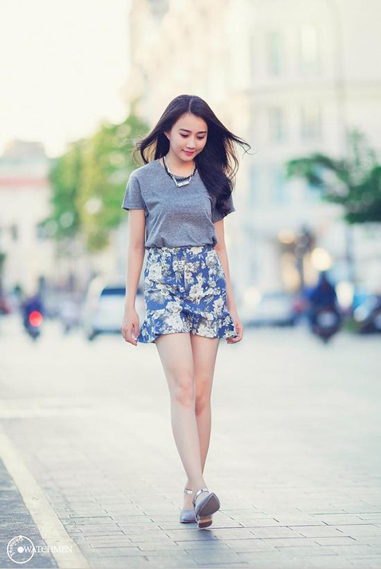 Hồng Loan nổi lên nhờ ngoại hình xinh xắn và đặc biệt giống Hoa hậu Việt Nam Đặng Thu Thảo