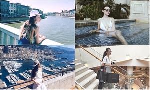 Kỳ nghỉ hè sang chảnh của một loạt hot girl