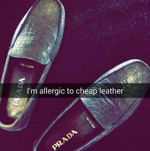 """""""Tôi dị ứng với những mấy đôi giày"""