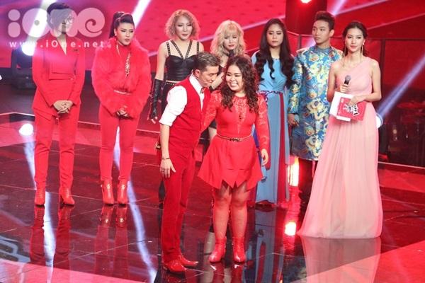 Ở đội Đàm Vĩnh Hưng, Vicky Nhung được bình chọn cao nhất, Mr. Đàm chọn Tố Ny đi tiếp, loại Bảo Trâm.