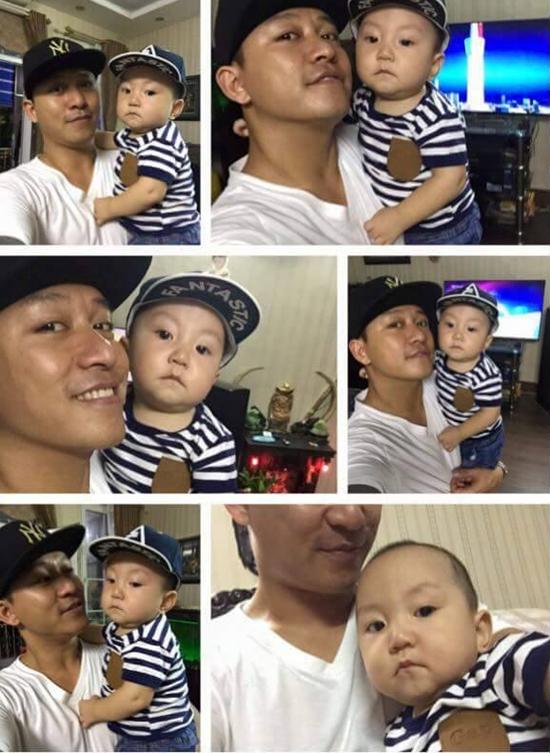 Tuấn Hưng khoe hàng loạt ảnh chụp với con trai Su Hào.