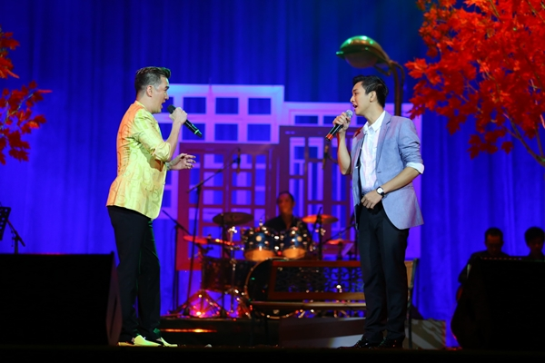 Góp mặt tại đêm nhạc còn có Hoài Lâm.