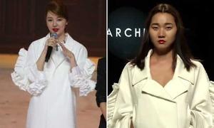 Yoon Eun Hye vướng nghi vấn thiết kế đạo nhái trang phục