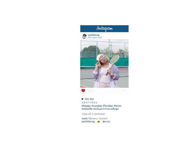 Woa, một cô nàng thuê nguyên sân tennis để chơi một mình đây chăng?