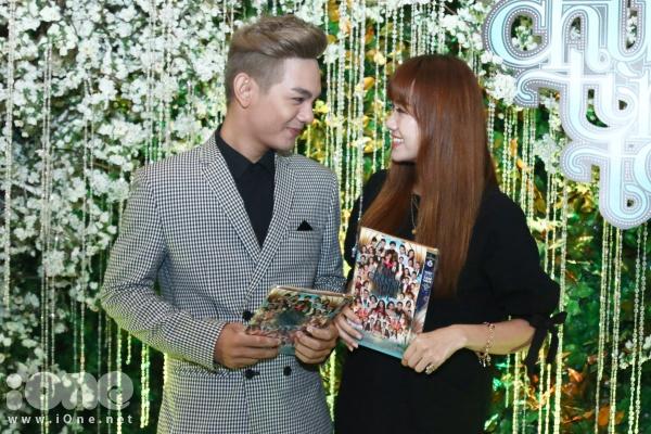 Cặp đôi Sơn Ngọc Minh - Hari Won từng gây sốt với ca khúc