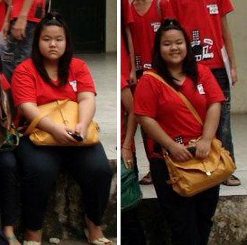 Châu kể, cô bạn từng bị kỳ thị ngoại hình từ bé vì cân nặng quá cỡ.
