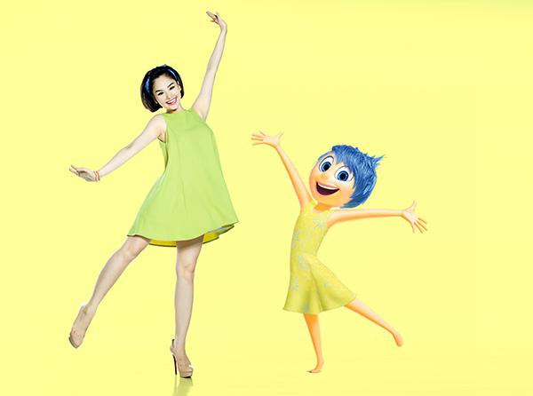 Để ăn mừng những thành tích của INSIDE OUT, mới đây, Miu Lê và Miko Lan Trinh đã cùng nhau thực hiện bộ ảnh đặc biệt, hóa thân thành chính những nhân vật mà mình lồng tiếng.